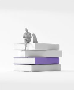 books purple