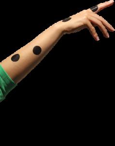 Hand splitscreen omhoog