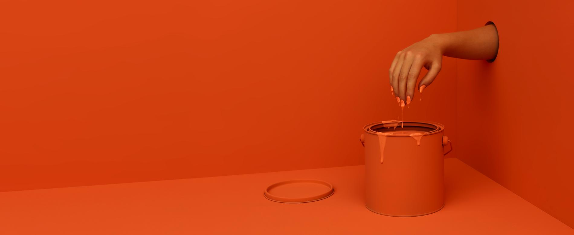 paint orange
